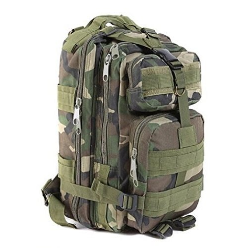 30L Outdoor Tactical Backpack Waterproof Military Rucksacks Camping Hiking Traveling Assault Pack (Camouflage) (British Bergen compare prices)