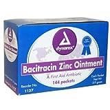 Bacitracin Zinc Ointment, .9 Gram Foil 144 Pk