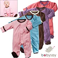 Babysoy Soy Soft Footie by Babysoy