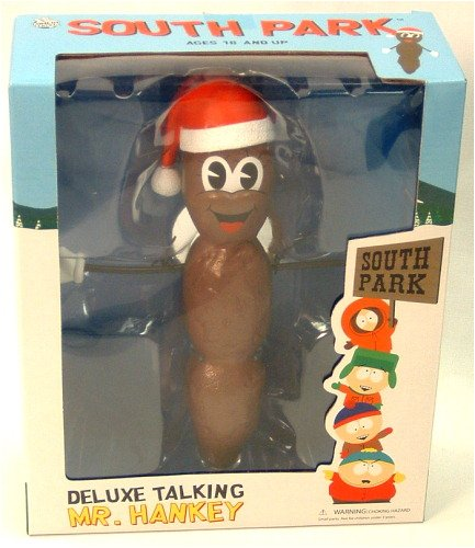 Picture of Mezco South Park Deluxe Talking Mr. Hankey Figure (B000HGTUMQ) (Mezco Action Figures)