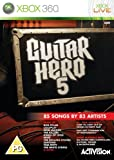 echange, troc Guitar Hero 5 - Game Only (Xbox 360) [import anglais]
