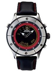 National Geographic Men's NG752GKSK TimeTrekker III Digital Compass Watch