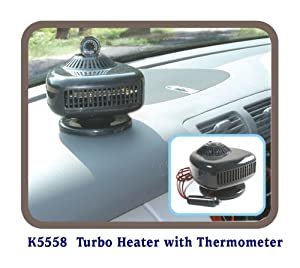 Turbo Heater - 12 Volt Car Heater & Windshield Defroster
