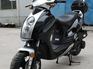 Scooter 150cc Street Legal Power Maz Scooter 150cc Moped Free Trunk