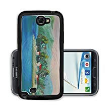 buy Liili Premium Samsung Galaxy Note 2 Aluminum Snap Case Island On River Summer Scene Of Landscapes This Is Oil Painting And I Am Author Photo 6698274