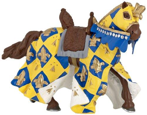 Blue Medieval Horse - 1