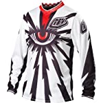 Troy Lee Designs GP Air Cyclops white (Size: M) Downhill Jersey