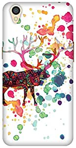 The Racoon Grip When The Rain Came hard plastic printed back case/cover for Oppo A37