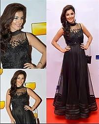 Ashvah Isha Talwar Black Gown