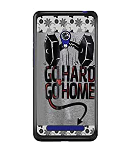 PrintDhaba Quote D-4124 Back Case Cover for ASUS ZENFONE 5 A501CG (Multi-Coloured)