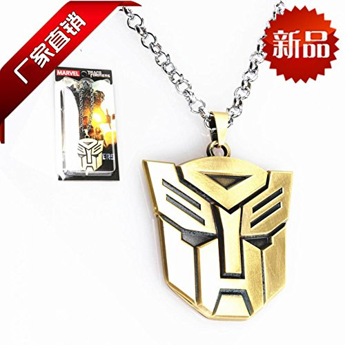 Hope Tree B01028 Manufacturers Selling New Europe And America Movie Theme Large Transformers Autobots Long Sweater Necklace