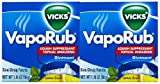 Vicks Vaporub Topical Cough Suppressant Ointment Lemon Scent 50g