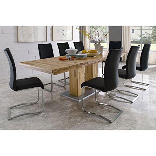 Trend Leipzig Extendable Dining Table Core Beech With Aran Chairs