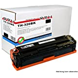 OBV rebuild Toner schwarz ersetzt HP Nr. 128A / CE320a geeignet für HP Color Laserjet PRO CM 1415 / FNW / FN / CP 1525 / N / NW / PRO 1525 / N / NW
