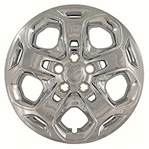 2010, 2011, 2012 FORD FUSION CHROME FACTORY REPLICA WHEEL COVERS / HUBCAPS (Set of 4) - 17""
