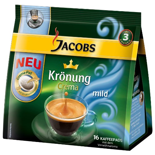 Choose Jacobs Krönung Crema Mild, 16 Coffee Pods - Kraft Foods