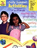 img - for Daily Summer Activities, Moving from First to Second Grade book / textbook / text book