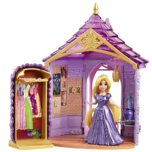Mattel Disney Princess Little Kingdom Magiclip Rapunzel Room Playset
