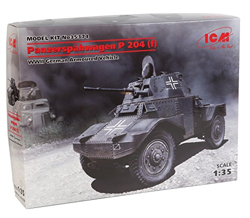 ICM Models Panzerspahwagen P 204 WWII German Armored Vehicle