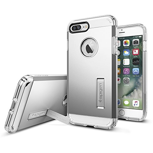 iPhone-7-Plus-Case-Spigen-Tough-Armor-HEAVY-DUTY-Satin-Silver-EXTREME-Protection-Rugged-but-Slim-Dual-Layer-Protective-Case-for-Apple-iPhone-7-Plus-043CS20681