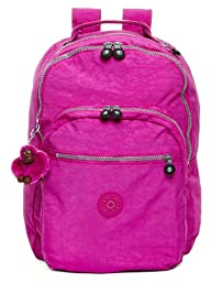 Kipling Seoul Laptop Backpack, Pink O…