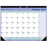Blueline 2014 Monthly Desk Pad, 21.25 x 16 Inches (C181731)