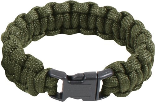 Military Survival Paracord Bracelet (8
