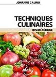 Techniques Culinaires BTS Di�t�tique