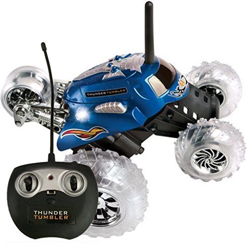 Thunder Tumbler Remote Radio Control Rally 360 Spinning Car - 1