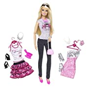 Barbie Doll and Fashion Barbie Doll Giftset