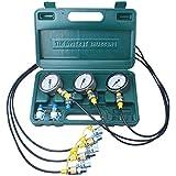 Excavator Hydraulic Pressure Test Kit, Hydraulic Tester, Pressure Test Guage Coupling 8000 PSI