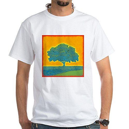 New Mens Old Tree Cool Nice Simple Basic Exclusive Quality T-shirt for Men XS Shirt