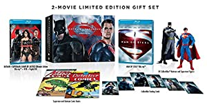 Batman v Superman: Dawn Of Justice (Amazon Limited Edition Box Set) (Ultimate Edition Blu-ray + UltraViolet) at Gotham City Store