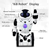 SainSmart Jr. KIB RT-08 Smart Self Balancing Robot, Wireless Radio Remote Control Robotic Toy, 5 Operating Modes ( Dancing, Boxing, Driving, Loading, Gesture Sensing), White