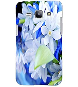 PrintDhaba Flowers D-2090 Back Case Cover for SAMSUNG GALAXY J1 (Multi-Coloured)