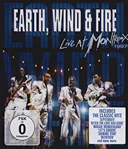Earth, Wind & Fire - Live at Montreux 1997 [Blu-ray]