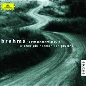 Brahms: Symphony No. 1 op. 68; Variations on a Theme by Haydn, op. 56a
