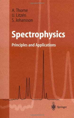 Spectrophysics:Principles And Applications