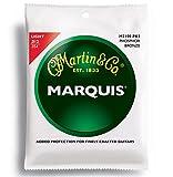Martin マーチン アコースティックギター弦 3セットパック Marquis Phosphor Bronze M-2100PK3 .012-.054 ライト 【国内正規品】