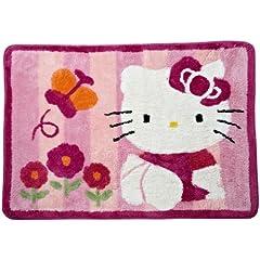 Lambs & Ivy Hello Kitty Garden Rug Pink