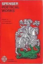 Poetical Work by Edmund (eds. J. C. Smith…