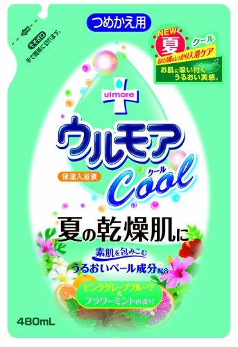 保湿入浴液ウルモア クールGF&FM替 480ml