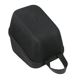 Khanka EVA Hard Case Travel Carrying Bag for Omron 10 Series Wireless Upper Arm Blood Pressure Monitor (BP786 / BP785N / BP791IT) - Black
