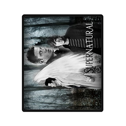 Custom Supernatural Fleece Blanket-Soft Throw Blankets, Super Warm Bed Blanket, Lightweight Blanket, Easy Care(Size: L, M, S) (One Direction Big Fleece Blanket compare prices)