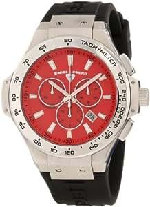 Swiss Legend Men's 40051-05-R Maverick Chronograph Red Dial Watch