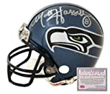 Matt Hasselbeck Seattle Seahawks NFL Hand Signed Mini Replica Football Helmet at Amazon.com