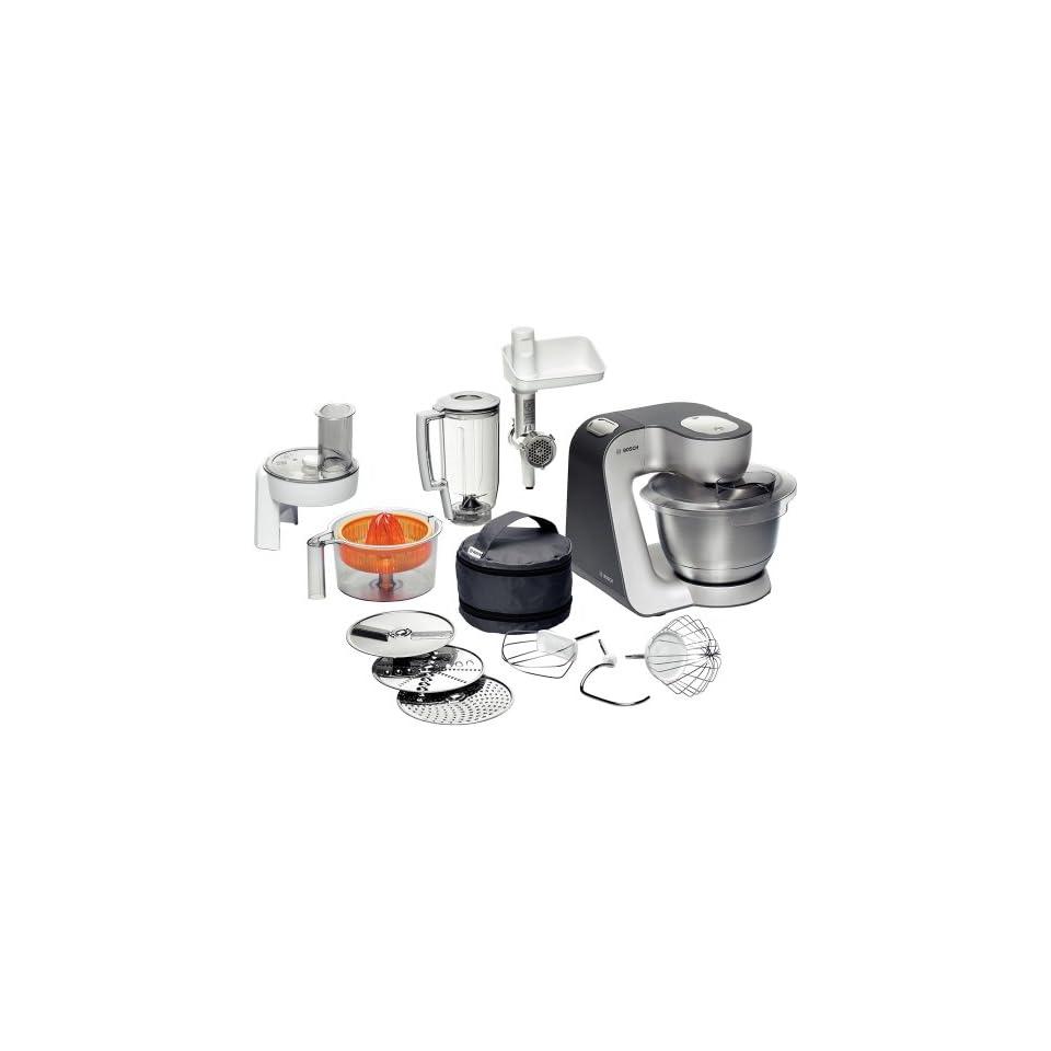 Bosch Mum56340 Kuchenmaschine Styline 900 Watt Edelstahl On