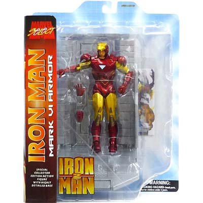 Picture of Diamond Select Iron Man 2 Marvel Select Iron Man Action Figure (B002WGICAU) (Iron Man Action Figures)