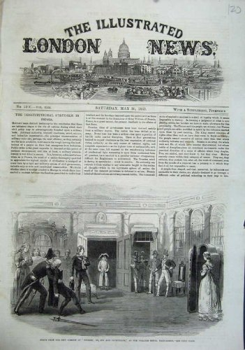 1863 Scene Comedy Finesses Spy Theatre Royal Haymarket