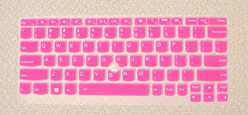Click to buy Bodu Silicone Keyboard Cover Skin for IBM Lenovo Thinkpad X230S X240 X240S X250 S1 Yoga X1 Helix Yoga 11E (Hot Pink) - From only $55.99